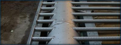 Geperforeerde buizen voor drainagebedden