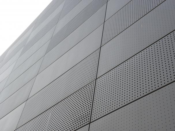 Aluminium geperforeerde panelen