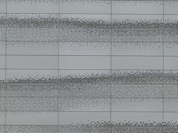 Aluminium composiet geperforeerd en geprofileerd