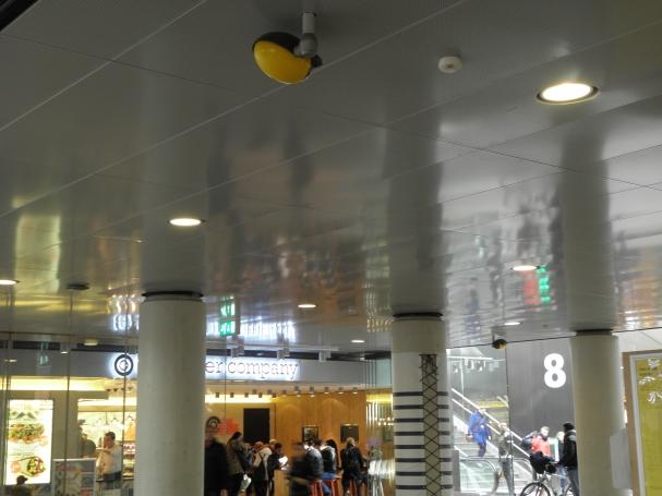 Geperforeerde plafond beplating