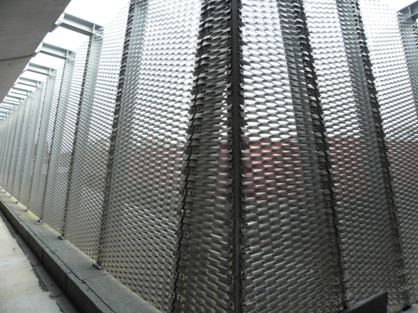 Aluminium strekmetalen hekwerk