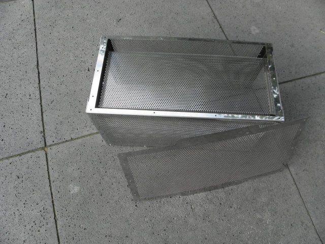 Filterbehuizing voor afzuigkap