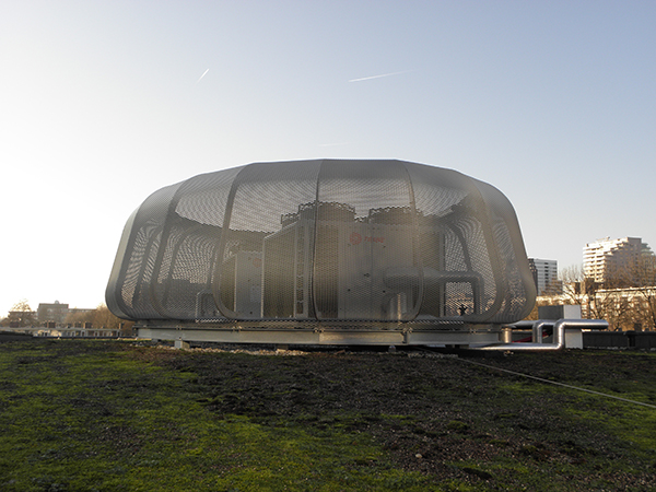 MFC De Binnenhof aluminium strekmetaal 1