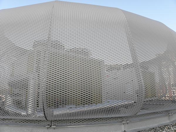 MFC De Binnenhof Amsterdam aluminium strekmetaal